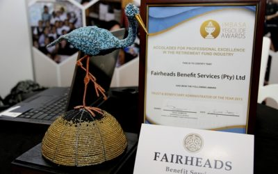 Fairheads Benefit Services Wins Industry Award