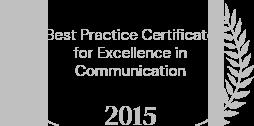 best preactice certificate